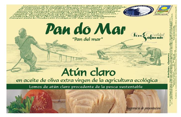 Yellowfin tuna in organic olive oil (120g)