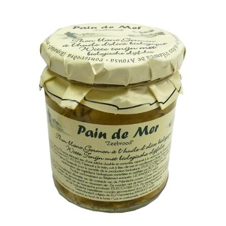 Thon Blanc dans huile d'olive biologique (220g)