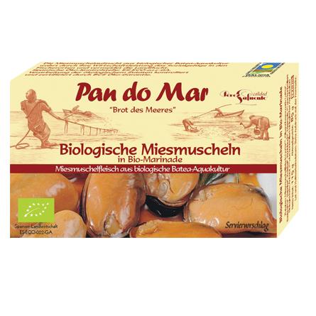 Bio-Miesmuscheln in Bio-Marinade (115g)