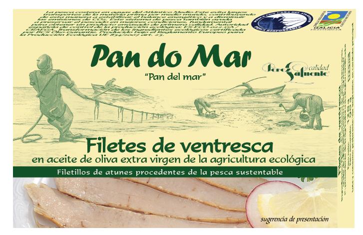 Yellowfin tuna belly in organic olive oil (120g)