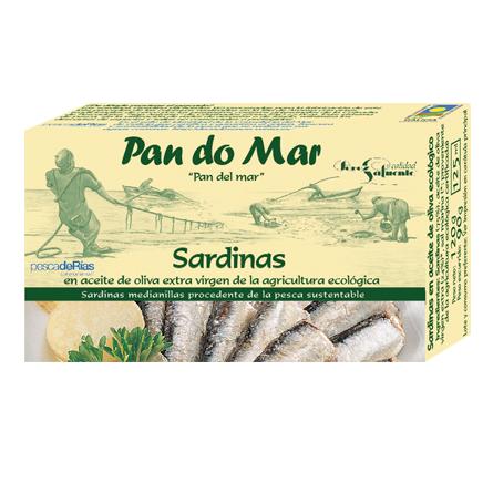 Sardinillas en aceite de oliva ecológico (120g)