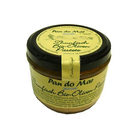Thunfisch Bio-Oliven Pastete 125g