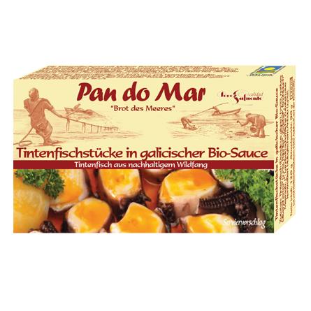 Tintenfischstücke in galicischer Bio-Sauce (120g)