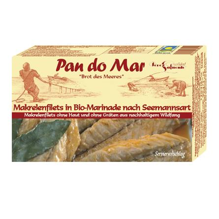 Makrelenfilets in Bio-Marinade 120g