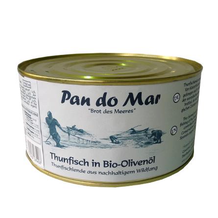 Thunfisch in Bio-Olivenöl 1135g