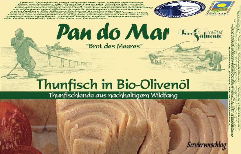 Thunfisch in Bio-Olivenöl 120g