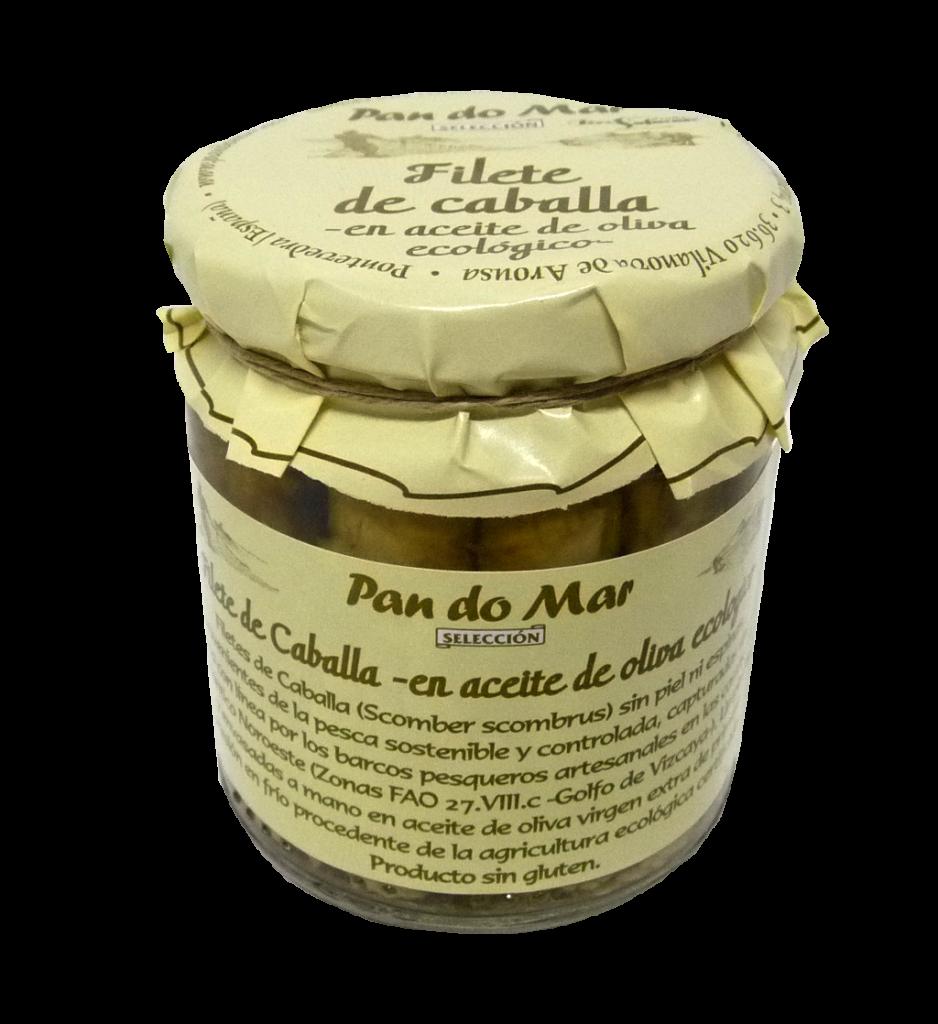 filete de caballa en aceite oliva