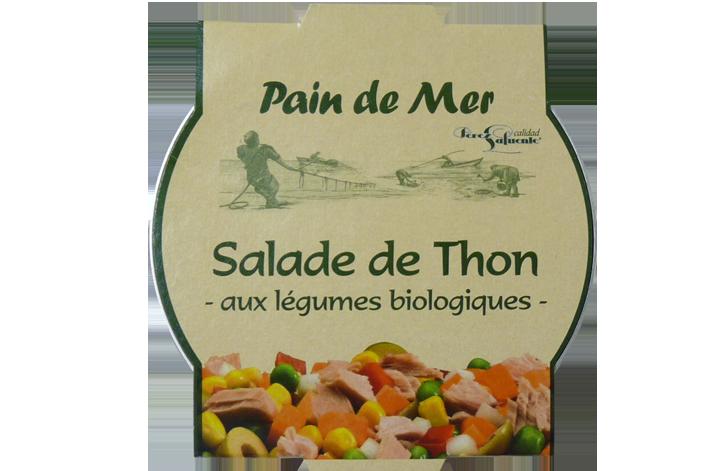 Salade de Thon -aux légumes biologiques-