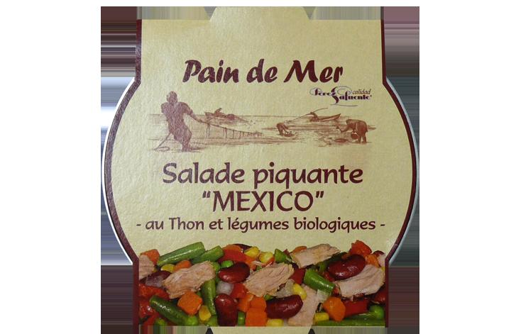 """Salade piquante """" MEXICO"""" – au Thon et légumes biologiques-"""