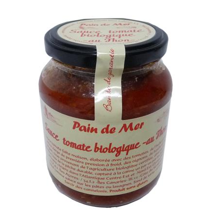 Sauce tomate biologique -au Thon-