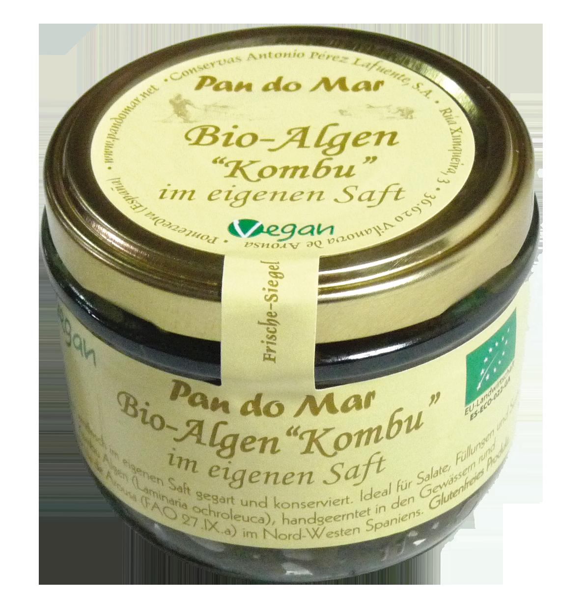 "Bio-Algen ""Kombu"" -im eigenen Saft-"